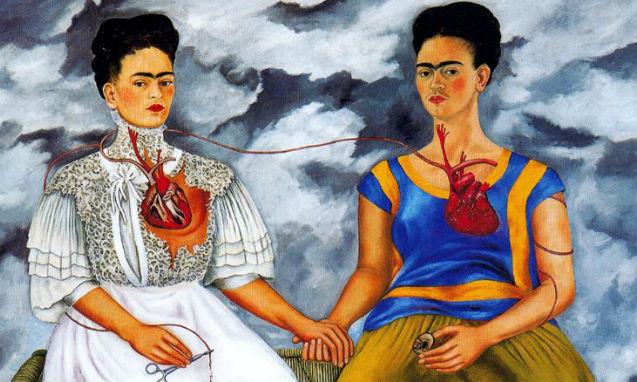 Las dos Fridas - el armario de Frida