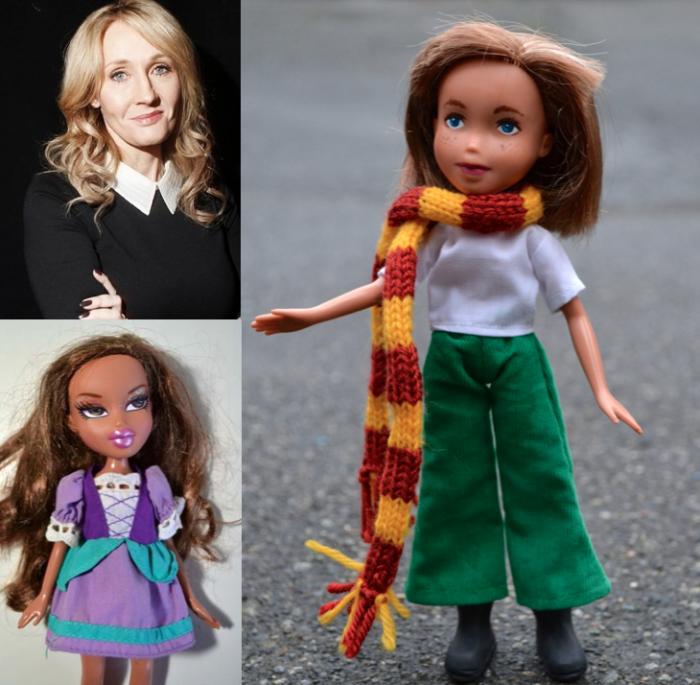 J.K. Rowling - muñecas