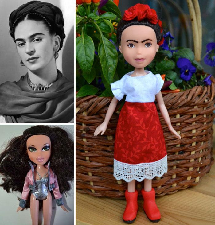 Frida Kahlo - muñecas