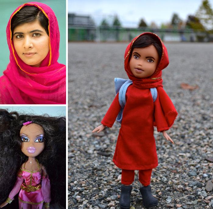 Malala Yousafzai - muñecas