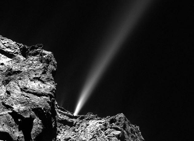 La estela del cometa - Universo