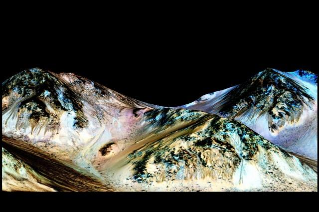 agua en marte - Universo