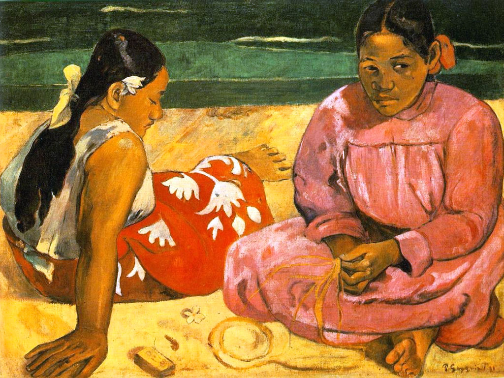 Paul Gauguin. Femmes de Tahiti, 1891- El triunfo del color