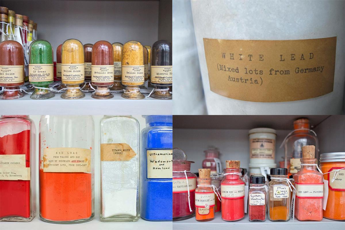 Biblioteca de pigmentos