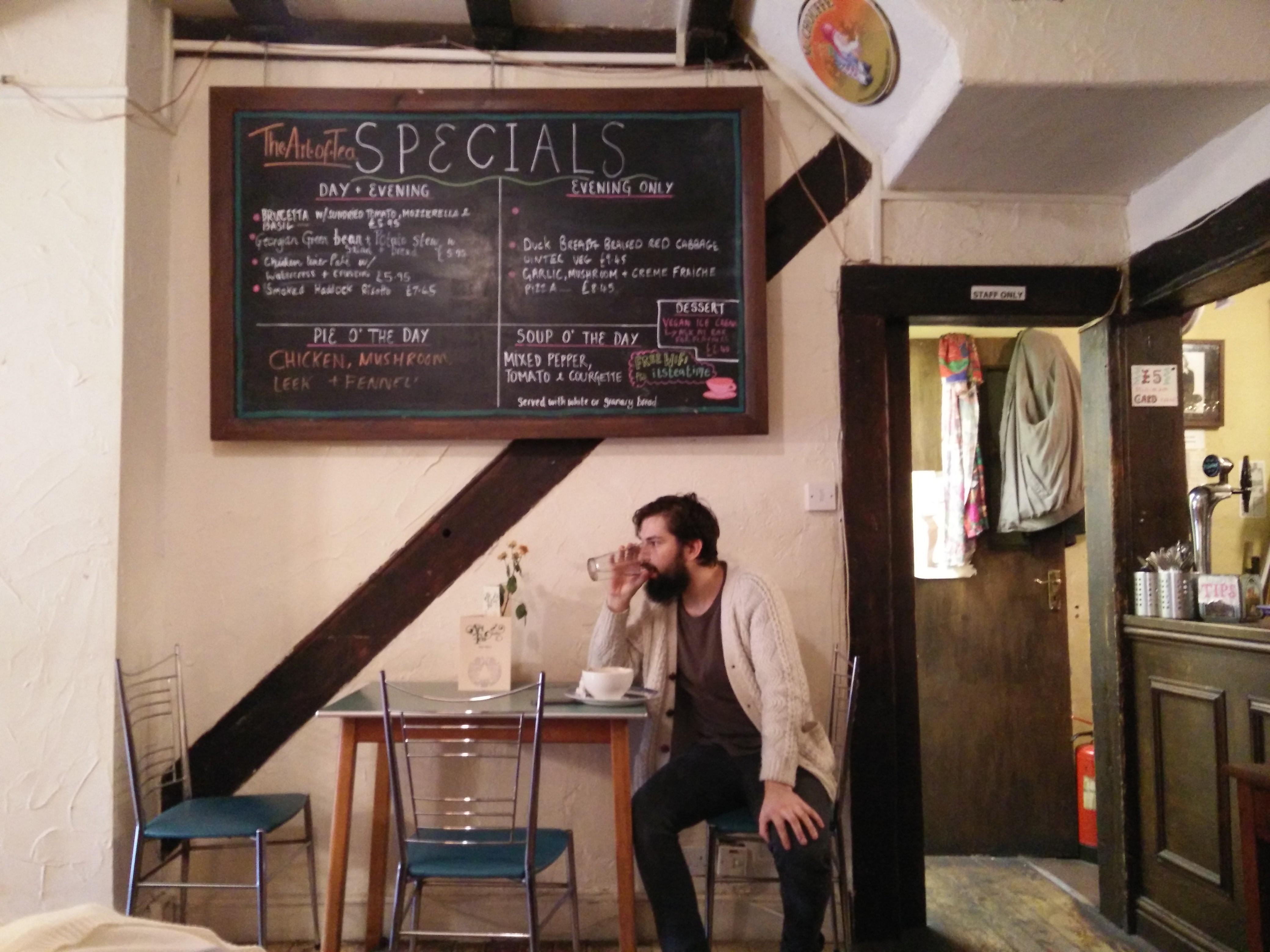 the art of tea cafetería-librería-taller