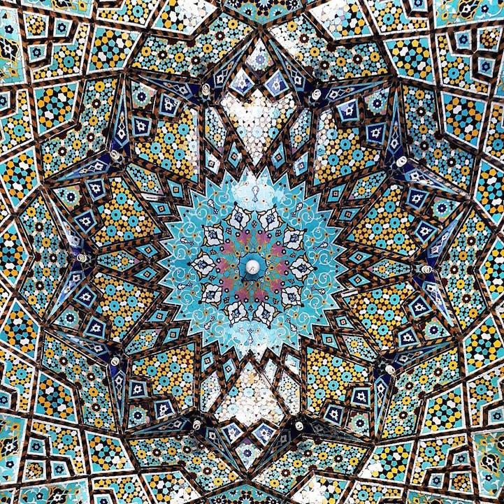 Mezquita de Hazrate-masomeh en Qom, Iran