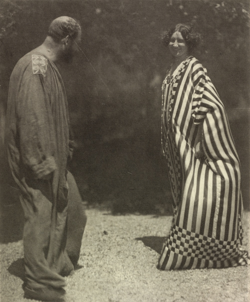 Emilie Flöge y Gustav Klimt