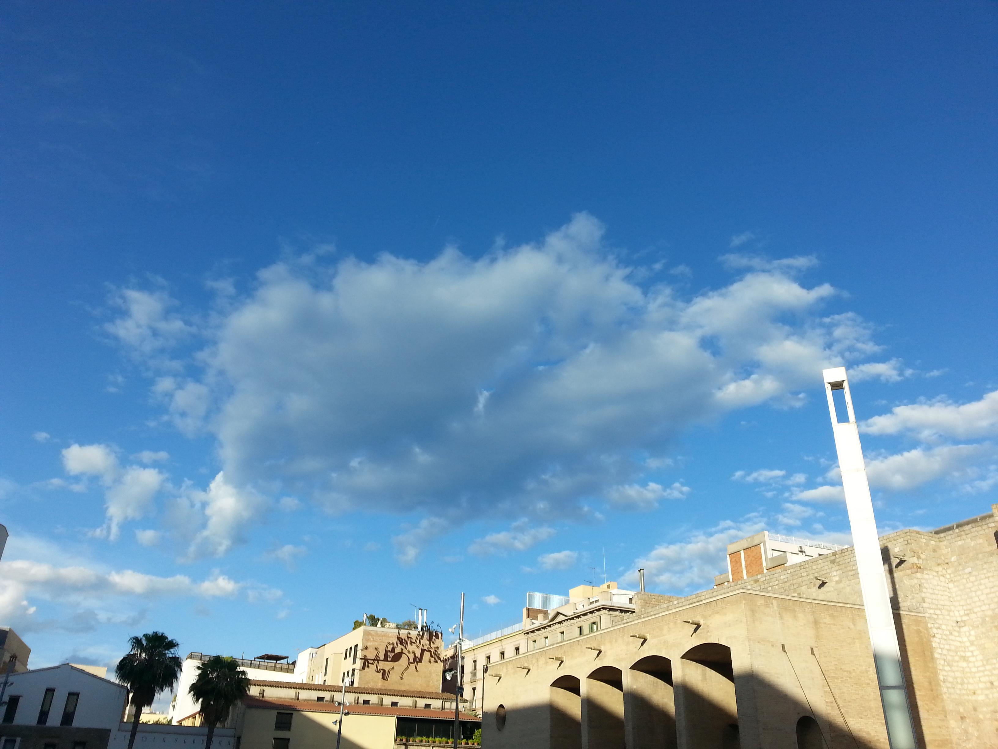 Los cielos de Barcelona - El Macba