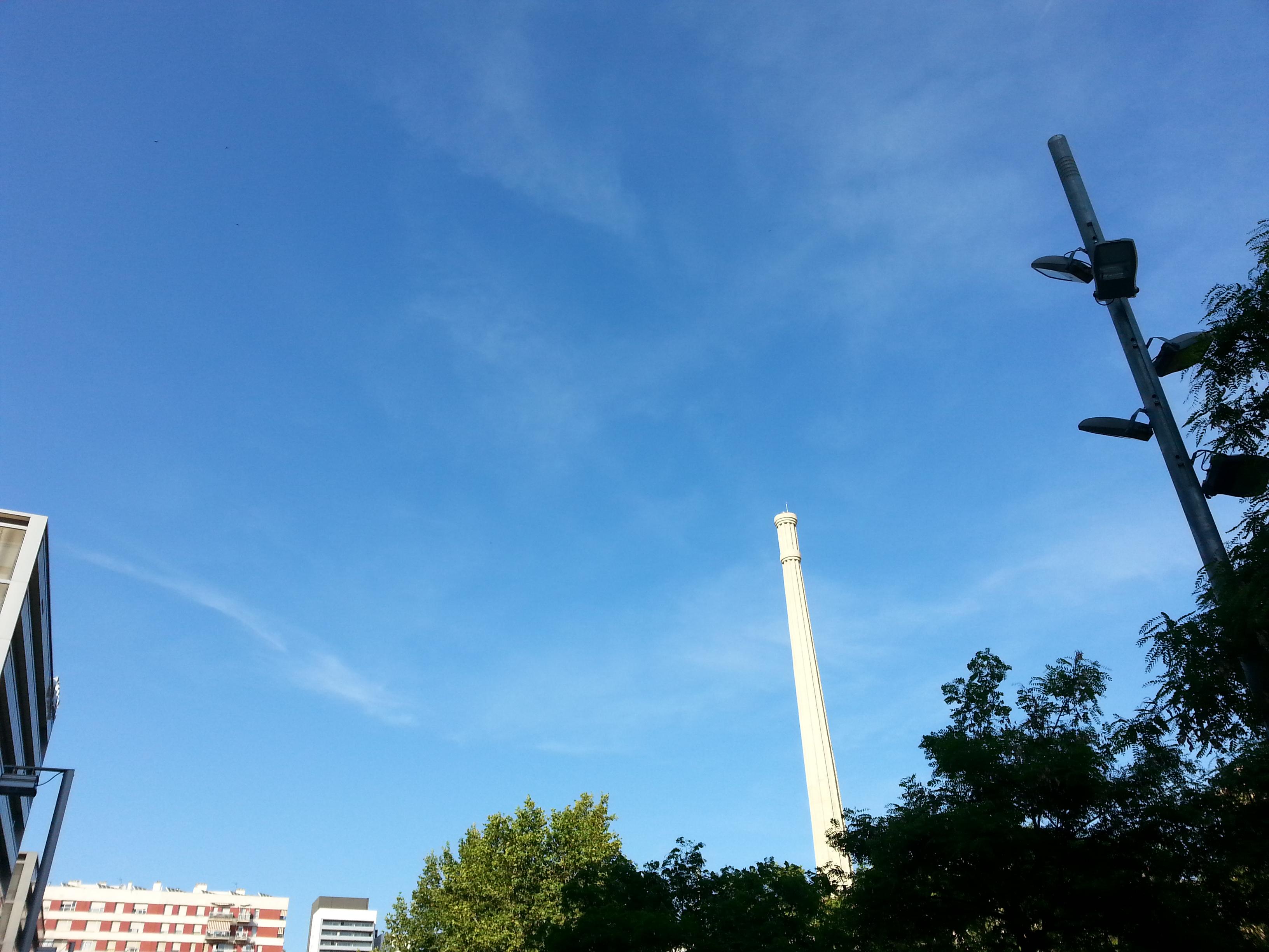 Los cielos de Barcelona - Poblenou