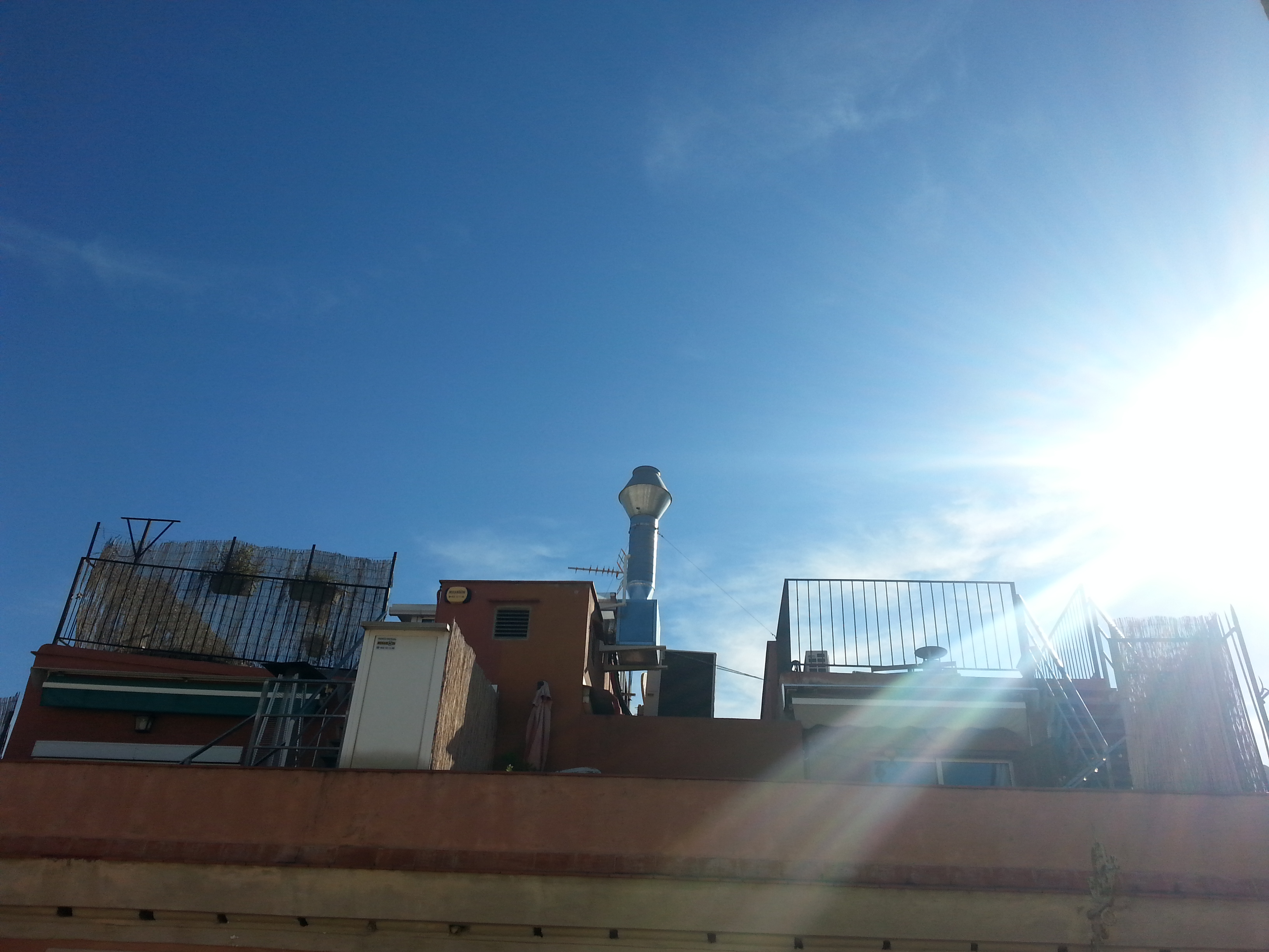 Los cielos de Barcelona - El Raval