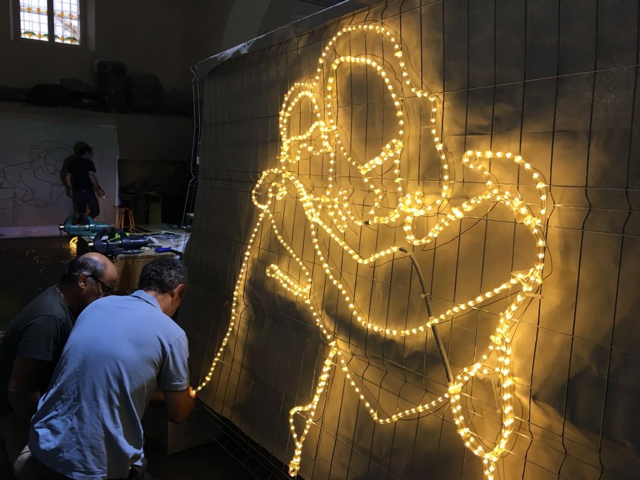 las luces del raval