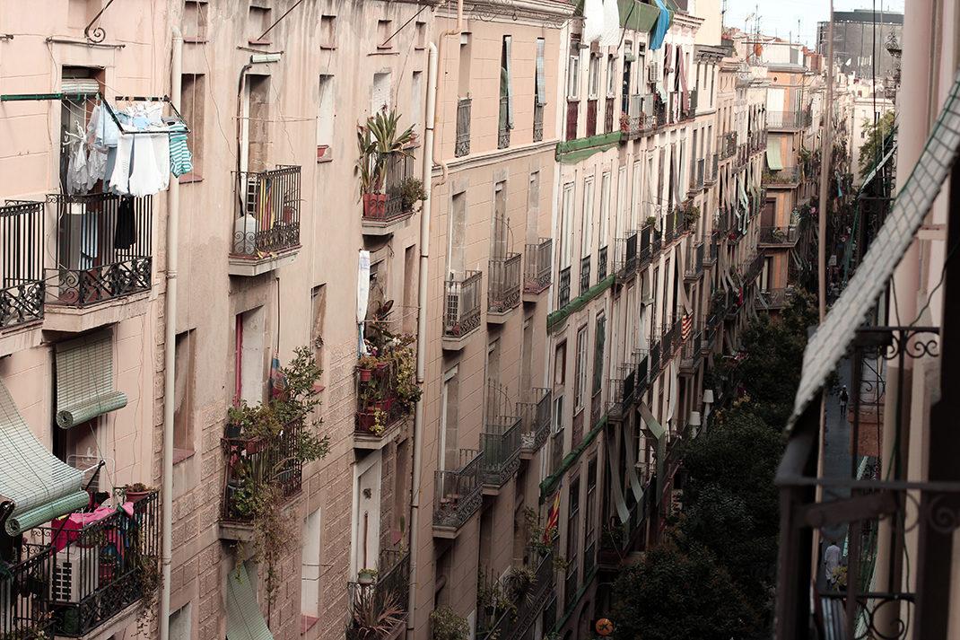Una calle del Raval