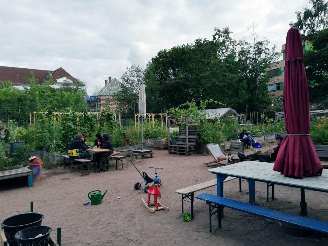 huertos urbanos espacios sociales Berlín